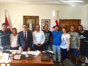KKTC Beşiktaşlılar Derneği Başkonsolosluğumuzu ziyaret etti