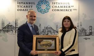 İstanbul'da mükim işadamlarımız ve İTO ile olan işbirliği çalışmalarımıza devam ettik (25 Şubat 2020)