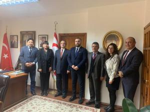 İBB Kültür A.Ş. Başkonsolosluğumuza bir ziyaret gerçekleştirdi (9 Ocak 2020)