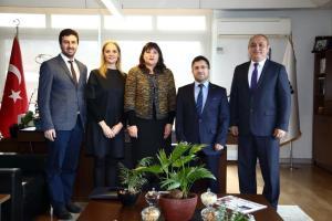 İstanbul Ticaret Üniversitesi'ni ziyaret ettik (16 Ocak 2020)