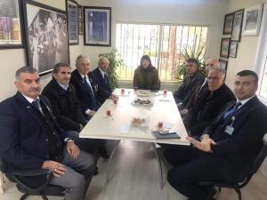 Muharip Gaziler Derneği Büyükçekmece Şubesi'ni ziyaret ettik (6 Şubat 2020)