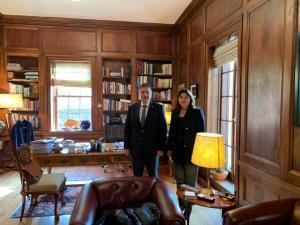 Boğaziçi Üniversitesi'ni ziyaret ettik (14 Ocak 2020)