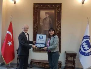 Marmara Üniversitesi'ni ziyaret ettik (4 Şubat 2020)