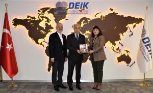 Dış Ekonomik İlişkiler Kurulu'nu ziyaret ettik (7 Şubat 2020)