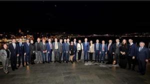 İstanbul'da mukim Kıbrıslı Türk işadamlarımız ile İTO Yönetim Kurulu üyelerini bir araya getirdik (12 Şubat 2020)