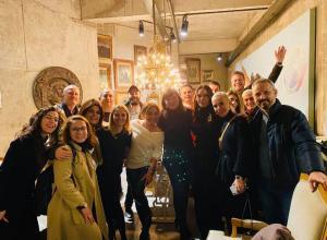 İstanbul'da yaşamını sürdüren Kıbrıslı Türk sanatçılarımız ve işadamlarımızla bir araya geldik (5 Ocak 2020)