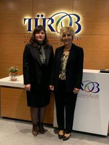 TUROB Başkanı Sayın Müberra Eresin ile görüştük (27 Ocak 2020)